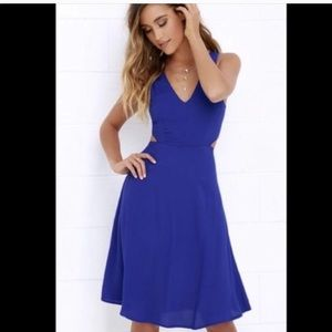 Lulus cut out dress. Medium.